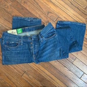 NWT Hollister Slim Boot Button Jeans 30x30